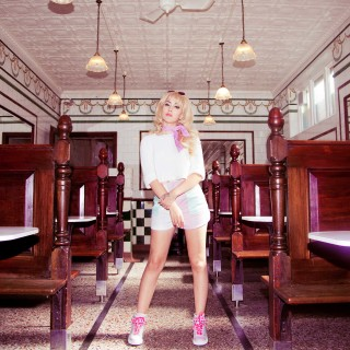 Kali Uchis as Barbie for the Sophia Webster Barbie Collection
